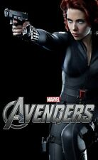 The Avengers movie poster - Scarlett Johansson poster 11 x 17 inches Black Widow