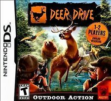 Deer Drive (Nintendo DS, 2010) GAME ONLY NICE SHAPE WORKS WELL NES HQ