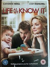 Katherine Heigl Josh Duhamel LIFE AS WE KNOW IT ~ 2010 Romantic Comedy | UK DVD
