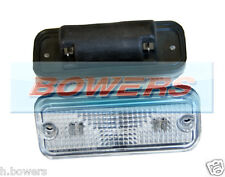 12V/24V HELLA 2PF961167021 CLEAR FRONT CARAVAN MARKER/POSITION/SIDE LIGHT/LAMP