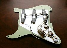 Fender Loaded Strat Pickguard Abby 69 You Customize it! All Colors 11 or 8 Hole