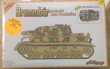 "1/35 German Brummbar Late Production ""Brummbär"" + Figures CyberHobby #9117"