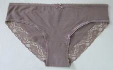Ladies/Girls Size 14 Debenhams Knickers Panties Briefs Stretchy Cotton Mink