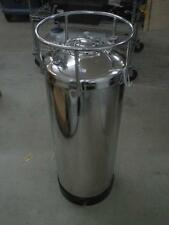 "Alloy Products Pressure Vessel Tank Stainless Steel 170PSI 150F 37"" Tall"