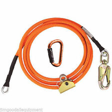 "Tree Climber Flipline Kit,1/2"" X 8' Climb Right High Vis w/Adjuster & Carabiner"