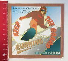 Aufkleber/Sticker: Hummelsheim - Keep The Board Burning (180416126)