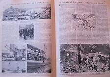 """""""Le Miroir du Monde"""" 04-1931 Terras-neuvas  SAINT-MALO, fouilles forum d'AUGUSTE"""