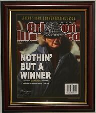 ALABAMA football framed magazine cover of Coach Bear Bryant by Greg Gamble