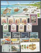 Pitcairn Islands Scott 358 // 681 Mint NH sets (Catalog Value $82.00)