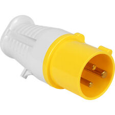 NEW Industrial Plug IP44 110V 16A Each