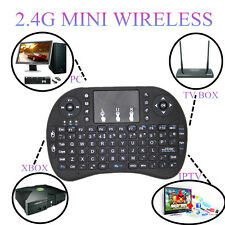 Wireless Mini i8 Black Keyboard with Touchpad for smart TV PC SN