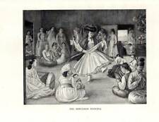 OLD KOREA 1946 Original ELIZABETH KEITH Vintage Print THE SORCERESS DANCING