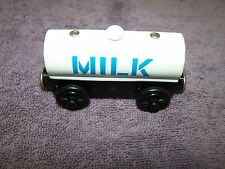 "thomas train wooden train""Tidmouth Milk Tankcar""nice,LOOK,BRIO,learning curve!"