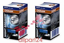 2x OSRAM NIGHT BREAKER PLUS EXTRA LIFETIME H11 64211NBP 2er Pack NEU&OVP