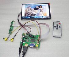HDMI VGA 2AV Remote Lcd controller Board 7inch 1280x800 N070ICG LD1 IPS LCD