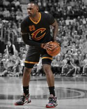 Cleveland Cavaliers LEBRON JAMES Glossy 8x10 Photo Spotlight Basketball Poster