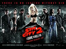 Frank Miller's Sin City A Dame to Kill For (2014) Movie Poster (24x36) - Alba v2