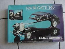 Heller Modellbausatz 1/24  im Karton-Bugatti  T-50- noch ovp.