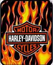 "Harley Davidson Fresh Logo HD Officially SUPER SOFT WARM THROW BLANKET 60"" X 80"""