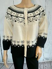 Woman's sweater SUNDANCE size Medium lambswool rabbit hair cashmere blend SOFT