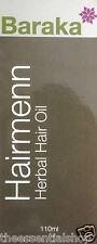 BARAKA HAIRMENN HERB OIL Prevent HAIR LOSS GRAYING HENNA 100%-POSITIVE-SELLER