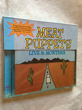 MEAT PUPPETS CD LIVE IN MONTANA RCD 10472 1999 ROCK