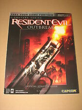 Resident evil Outbreak Strategy Guide lösungsbuch  Bradygames Englisch