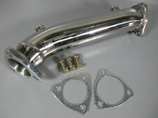 STAINLESS STEEL RACING TURBO DOWNPIPE EXHAUST 97-05 AUDI A4 B5 B6 VW PASSAT 1.8T