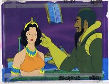 FLASH GORDON Cartoon Animation DALE & MING Cel & Painted Bkgd #A2799