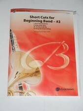 SHORT CUTS FOR BEGINNING Pop BAND - #2 by Michael Story Conductor Score & Parts