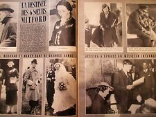 MATCH nov 1939 Ligne MAGINOT ; PAYS-BAS ; TALLIN ; MITFORD sisters ; KIWANUKA