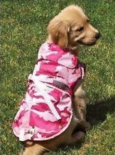 Zack & Zoey Companion Camo Dog Jacket Coat Fleece PINK XL XLARGE