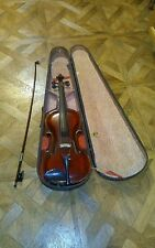 Jacobus Stainer in Absam  1729 violin case old bow