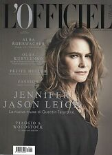 L'Officiel 2015 14#Jennifer Jason Leigh,Alessandra Mastronardi,Ireland Baldwin,i