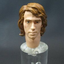 "1:6 Scale Star Wars Anakin Skywalker Head for custom 12"" Sideshow"