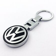 Car Key Chain double side Logo Metal Alloy keyring key holder For Volkswagen