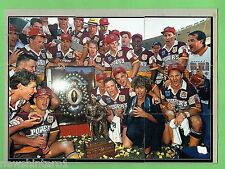 #T46. 1993 GRANDFINAL WINNING BRISBANE BRONCOS RUGBY LEAGUE PICTURE