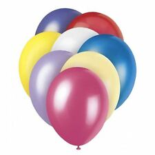 "50 pcs 12"" Assorted Coloured Balloons Birthday Wedding Party Decorations"