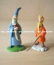 "New Full Set! ""The Sword in the Stone"" Tiny! 2 Figures Disney Choco Egg"