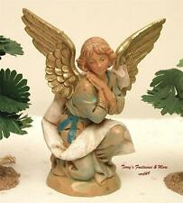 "FONTANINI DEPOSE ITALY 5"" KNEELING ANGEL1994 NATIVITY VILLAGE FIGURE 72518 NIB"