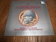 Vivaldi Le Quattro Stagioni CD Trevor Pinnock 4 Seasons 1982 West Germany
