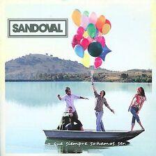 SANDOVAL LO QUE SIEMPRE SOÑAMOS CD Promo