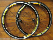 MAVIC COSMIC ELITE 700C CLINCHER AERO WHEEL SET 8 - 11 SPEED VITTORIA RUBINO PRO