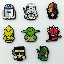 Kids Boys Gifts 8pcs PVC Magnetic Sticker Cartoon Star Wars Fridge Magnet