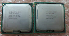 2x Intel Xeon Quad Core E5420 2.5Ghz/12M LGA771 Processor CPU Step Code SLBBL