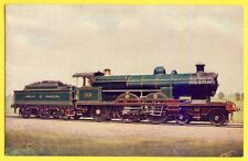 Post Card TRAIN De GLEHN COMPOUND EXPRESS ENGINE LOCOMOTIVE WESTERN RAILWAY