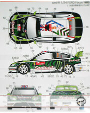 STUDIO 27 FORD FOCUS STOBART MONSTER ELAINE KATIE 2010 DECAL for SIMIL'R 1/24