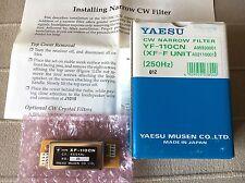 Yaesu Yf-110cn, Yaesu Ft-1000 , 250hz 455khz Cw Filter