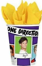One Direction Party Supplies - Hot/Cold Paper Cups 8pk, 9oz, 266ml - WAS $5.95