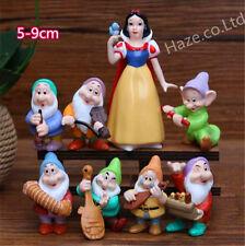 7 Dwarfs & Princess Snow White PVC La figura Juguete Kids Regalo